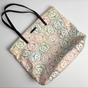 Kate Spade | Tonti Street Cat Print Bon Shopper